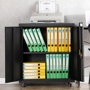 Quality Black Shelf Folding Storage Cabinet Removable Fold Steel Storage Cabinet for sale