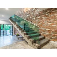 Quality Fashion toughened glass stair balustrade prices protect a child pool fence spigot for sale