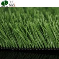 China Fake Synthetic Turf Football Field For Soccer Players Apple Green Color on sale
