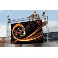 Quality IP54 P8mm Outdoor LED Signs Full Color , Led Rental Display for sale