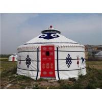 Quality 2 - 10m Diameter Mongolian Round Tent / Yurt Style House With Steel Structure for sale