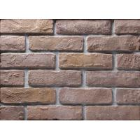 Quality Decoration Wall Thin Veneer Brick , Antique Texture Fire Clay Bricks For Building for sale