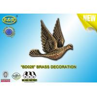 Buy cheap REF. BD028 Brass pigeon tombstone decoration size 10*10.5cm material copper alloy product