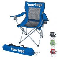 China Mesh Folding Chair with Carrying Bag on sale