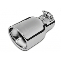Quality Polished Clamp On 4 Inch SS304 Exhaust Pipe Tips for sale