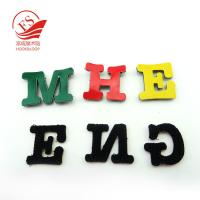 Quality Reusable Kid Hook Loop Letters For Classroom Wall , Nylon + Polyester for sale