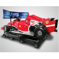 Buy Racing Game Virtual Reality Simulator Machine Full View Screen 360 degree Rotation at wholesale prices