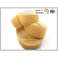 Quality double velcro tape Smart Orange color hook and loop one wrap tape 25 meters per roll hook & loop at the same side for sale