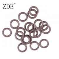 Quality Samll Brown Multi Function Fluorine O Ring Heat Resistant Rubber Seal Ring Gasket for sale