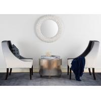 Buy cheap 5 Star Hotel Reception Center Grey Fabric Modern Lobby Chair For Living room product