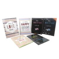 Quality Embossing Musical Birthday Cards For Kids Sound Birthday Cards for sale