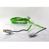 China 1M Zipper Lightening/ Micro USB Data Transfer Cable for Apple and Android Phones on sale