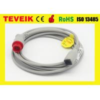 Buy cheap HP Invasive Blood Pressure Cable , Round 12pin to Abbott Adapter from wholesalers