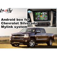 Quality Android 4.4 Car Navigation Box , Navigation Video Interface for Chevrolet Slverado for sale