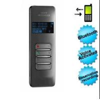Buy cheap Initiate In The World Bluetooth Digital Voice Recorder Voice Activation 8GB product