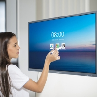 Quality 55 Inch Touch Screen Interactive Electronic Whiteboard All In One for sale
