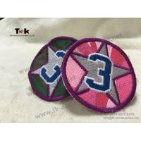 Buy Adhesive Custom Embroidered Patches German Embroidered Uniform Patches OEM / ODM at wholesale prices