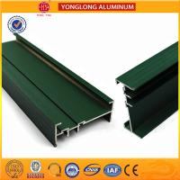 Quality RAL Colour Powder Coated Aluminium Extrusions Highly Glossy / Matte for sale