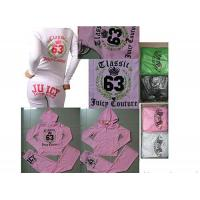 China Authentic Guarantee Juicy Couture Velour Basic Track Set on sale