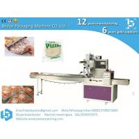 Quality Delicious low calorie crust pizza, toast, Chicago pizza multifunctional horizontal packaging machine for sale
