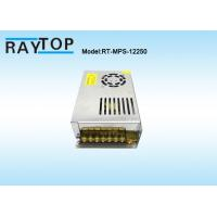 Quality Cooling Fan CCTV Power Supplies 220V Input AC/DC 12V 20A Metal Case Power Supply for sale