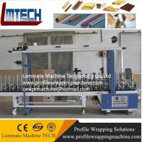 Quality Laminate Flooring Skirting Board Trim Profiles wrapping machine for sale