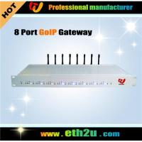 Quality 8 channels GoIP Gateway,voip gsm gateway for sale