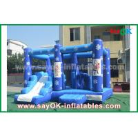 Buy cheap Customized 0.55mm PVC Tarpaulin Inflatable Castle Frozen Obstacle Course For from wholesalers