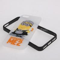 Quality New cute 3 in 1 despicable ME2 plastic case for iphone 5 for sale