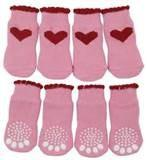 China Anti - slip wool socks with soft, nature strech 100 percent cotton fabric for girls on sale