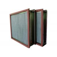 Buy cheap Aluminum Foil High Temp Hepa Filter Separator For Cleaning Room from wholesalers