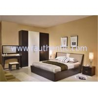 Quality Simple MDF Structure Rustic Wood Frame Bed For Mens 1700 * 2180 * 870MM Size for sale