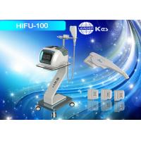 Buy cheap Anti - Wrinkle Treatment HIFU Machine Blue Depth 3.0 / 4.5mm HIFU For Face Lifting from wholesalers