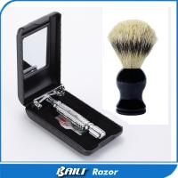 China Free Sample Butterfly Opening Double Edge Shaving Razor For Gentleman on sale