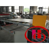 Buy cheap wood and plastic composite wpc foamed  hard surface construction board extruder,machine product