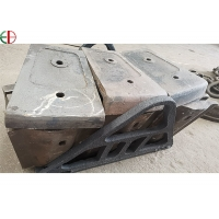 Quality Cement Kiln Segments Ball Mill Liners Alloy Chromium Casting Steel Iron material for sale