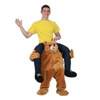 Quality Holiday / Carnival Animal Mascot Costumes Bear Carrying Man Costume for sale