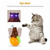 Buy Safe Puzzle Funny Cute Pet Toys Sound And Light Ball Five Kinds Of Sounds at wholesale prices