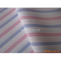 Quality Stable quality Mini Dobby Cotton Yarn Dyed Fabric, Plain Weave Stripe For Fashion Clothes for sale