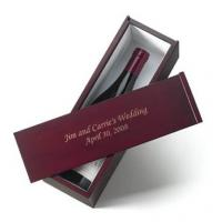 Quality gift wine glass gift box for sale
