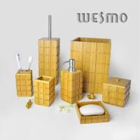 Buy 9 Piece Bamboo Bathroom Sets WBB0469A at wholesale prices