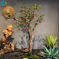 2m Height Artificial Berry Tree , Artificial Pomegranate Tree For Thanksgiving for sale