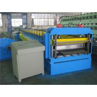 Buy cheap Automatically Silo Metal Roll Forming Machine by Gear with Hydraulic Cutting from wholesalers