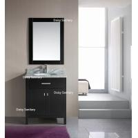 Quality European Style Modern Vanity Set , Safe And Integrate Modern Single Sink Vanity for sale