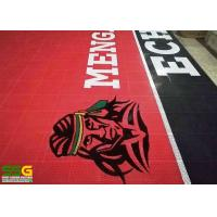 Buy Interlocking Rubber Floor Tiles For Basketball Court Project Case In Philippine at wholesale prices