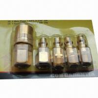Quality Pneumatic Compression Couplings, Made of Brass for sale