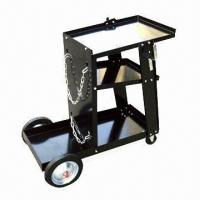 China Universal Welding Cart with Heavy-duty Steel Construction on sale