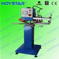 Quality high speed label screen printing machine for non slip sock/gloves/koozies for sale