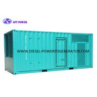 Quality 600kW 750kVA Container SDEC (Shangchai) Power Electric Diesel Generator for sale