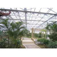 Quality Easy Installation Garden Greenhouse , Polycarbonate Sheets Greenhouse Custom Span Width for sale